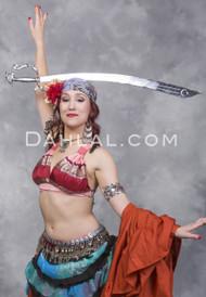 Balanced DRAGON SCIMITAR SWORD for Belly Dance