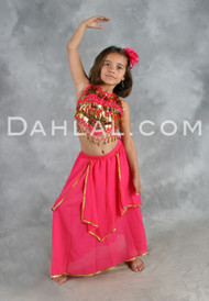 LITTLE HABIBI, Children's Belly Dance Costume