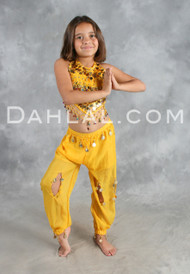 ARABIAN PRINCESS, Children's Belly Dance Costume
