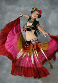 Tribal Belly Dance 25 Yard Skirt