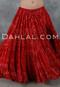 Red Jaipur Skirt