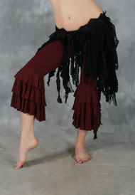 Retro lace belly dance tribal belt