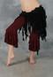 Black Retro Lace Belly Dance Tribal Belt