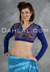 Printed Choli Top - 4 Colors Available