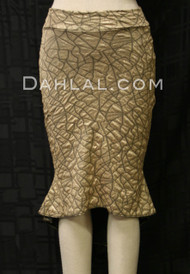 LA ENTRADA, Tango Skirt in Gold and Black