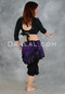 Bustle skirt for belly dance, tribal dance, cosplay, burlesque and steampunk costumes.