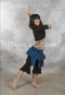 dance leggings with ruffle
