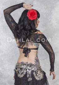 najwa tribal belly dance shrug