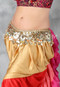 Egyptian Coin and Chain Belt for Belly Dance