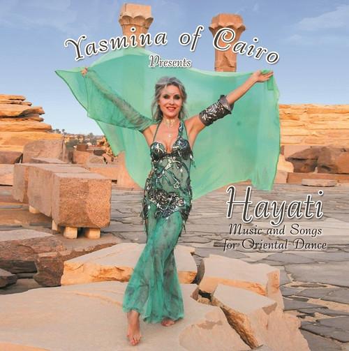 Hayati by Yasmina of Cairo, Bellydance CD