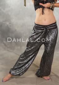 SAHARA STARDUST Metallic Harem Pants