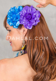 NEW GLITTER BLOOMS, Belly Dance Fashion Accessory