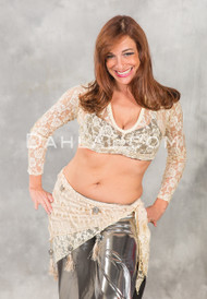 Lace Choli Top