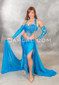 GREAT LOOP Ensemble by Pharaonics of Egypt, Egyptian Belly Dance Costume