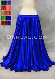 Lightweight Satin Circle Skirt made in Egypt