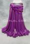 Fuchsia Metallic Chiffon Skirt