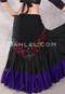 Black and Multi-Color 4 Shawl