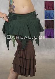 belly dance mini skirt