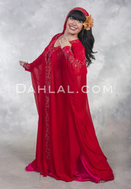 RHINESTONE STUDDED ABAYA Open Style Cover-Up - 8 Colors Available