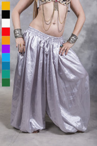 Voluminous Satin Harem Pants - 6 Colors Available