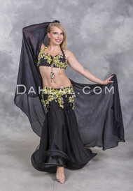 Egyptian belly dance costume