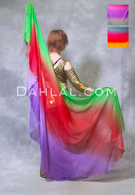 chiffon belly dance veil