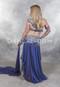 buy blue Egyptian belly dance costume