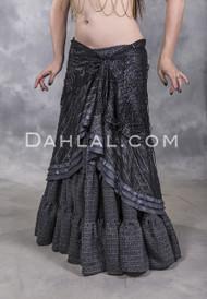 tribal belly dance hip wrap skirt