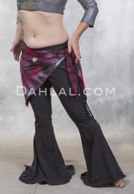 tribal fabric hip wrap