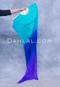 Turquoise, Royal Blue, Purple