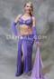 Lavender Eman Zaki belly dance costume