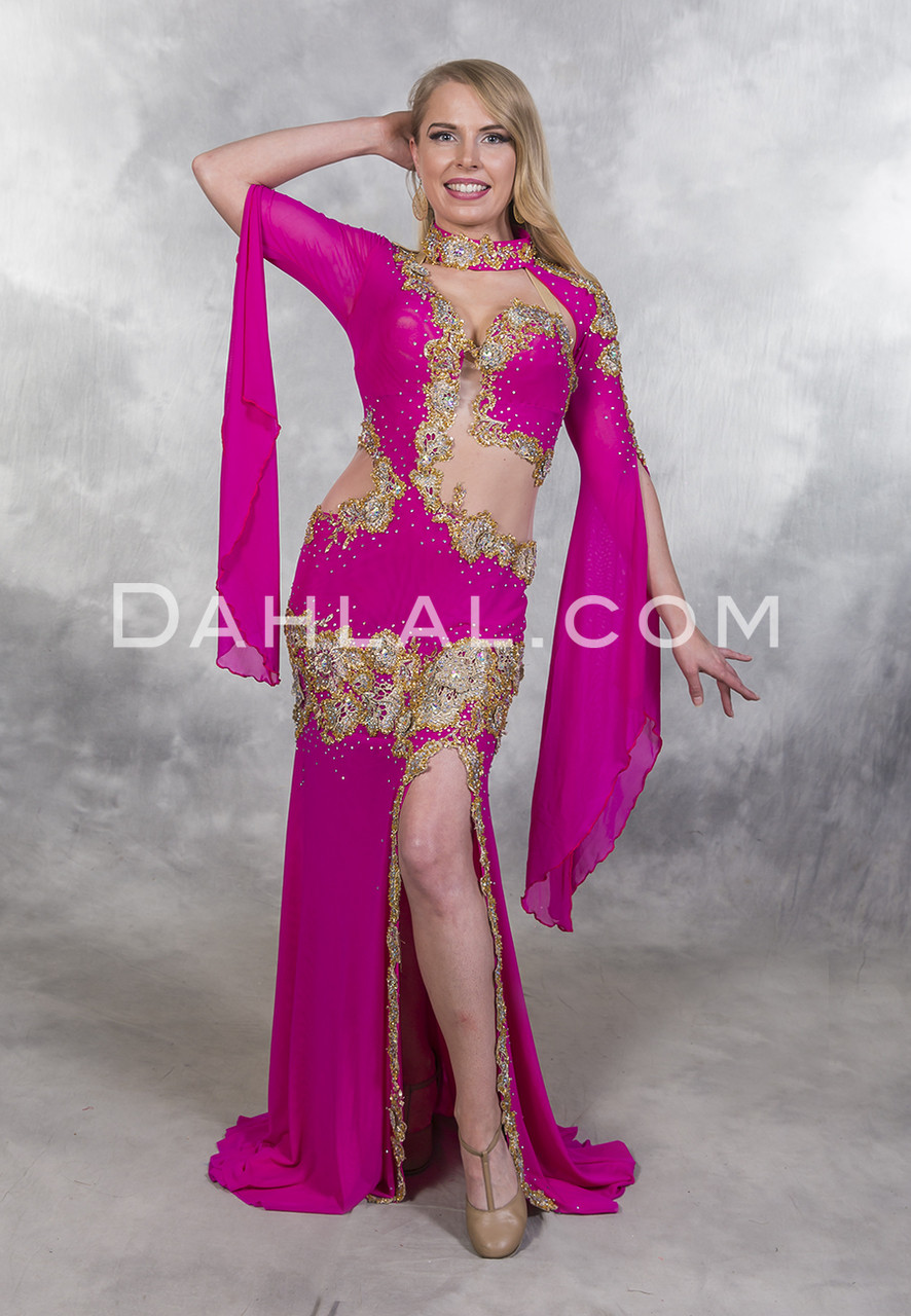 with Sparkles Dance wear Belly Dance Cut-Out Costume Belly Body Stocking