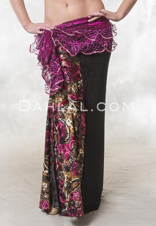 KIYA Skirt Limited Edition- Off The Nile Belly Dance Skirt