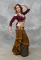 wine belly dance choli