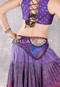 Purple Sari Pocket Belt