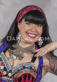 Barmear Headband, Belly Dance Hair Accessories