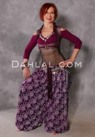 Henna Printed Harem Pants