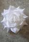white hair flower
