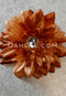 copper hair flower