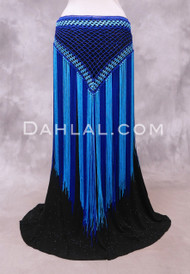 TWO TONE DIAMOND Crocheted Fringe Hip Skirt, 2 Colors Available