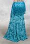 Sapphire Vista Turquoise Printed Skirt