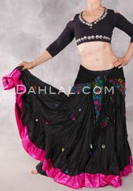 Fuchsia Gypsy Skirt