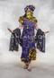 Purple Melaya Dress with Melaya Leff