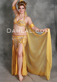 LABYRINTH in Mango and Silver by Pharaonics of Egypt, Egyptian Belly Dance Costume