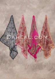 Paisley Print Scarves- 8 Colors Available
