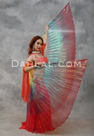 Rainbow Organza Wings of Isis- 3 Color Combinations Available