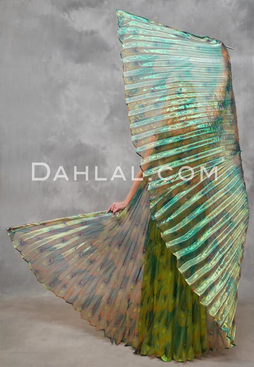Peacock Wings of Isis