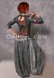 Charcoal Printed Harem Pants