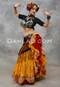 Yellow Tribal Belly Dance Skirt