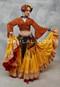 Yellow Tribal Skirt